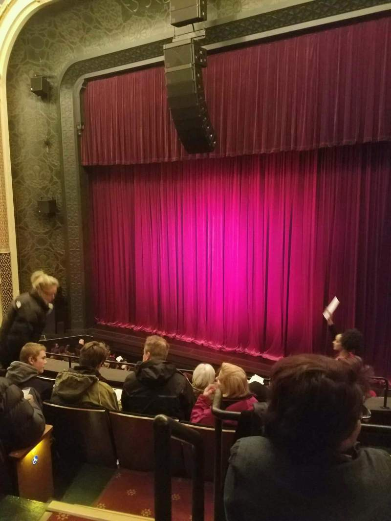 Seating view for Mainstage at the New York City Center Section mezzRt Row A Seat 2
