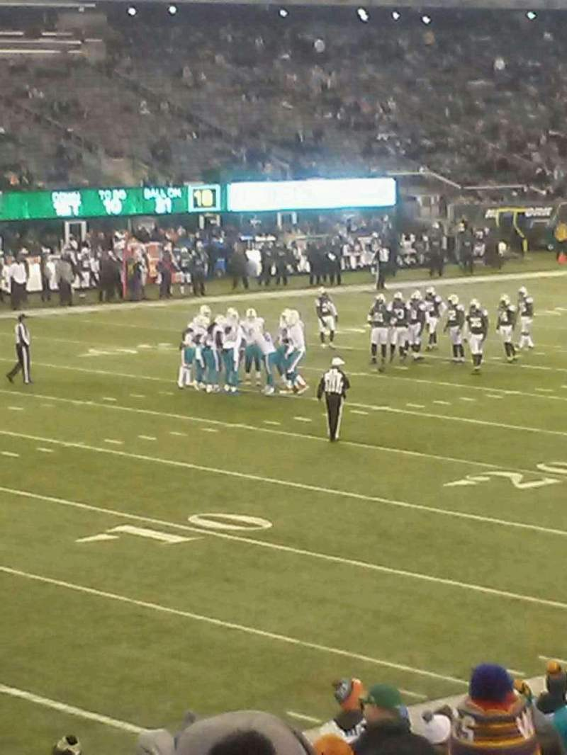 Seating view for MetLife Stadium Section 144 Row 21 Seat 19
