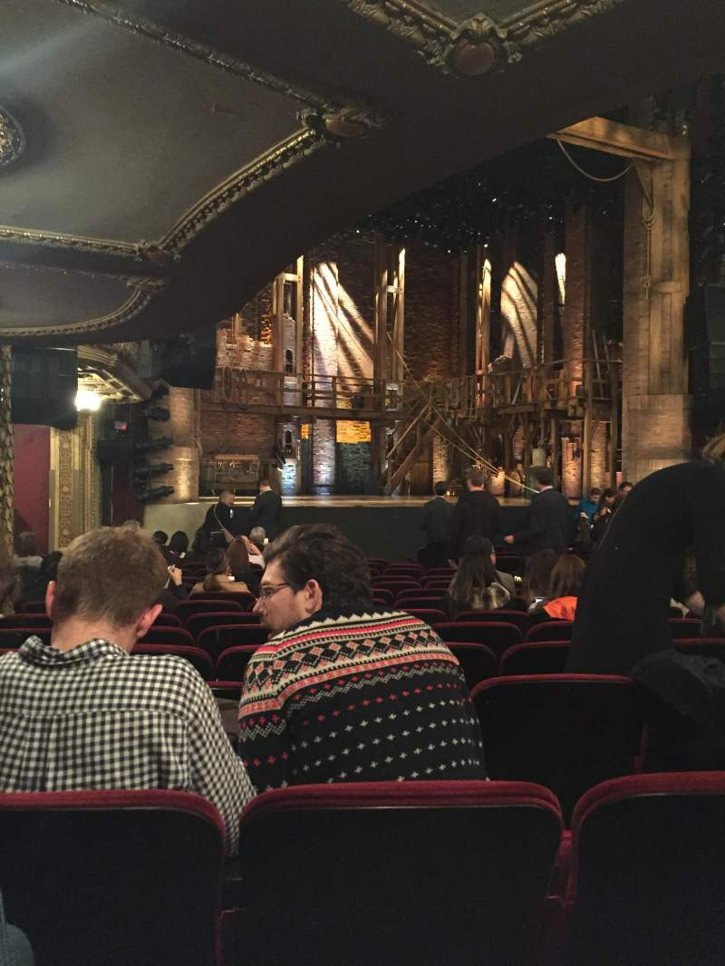 Seating view for CIBC Theatre Section Orchestra L Row S Seat 19