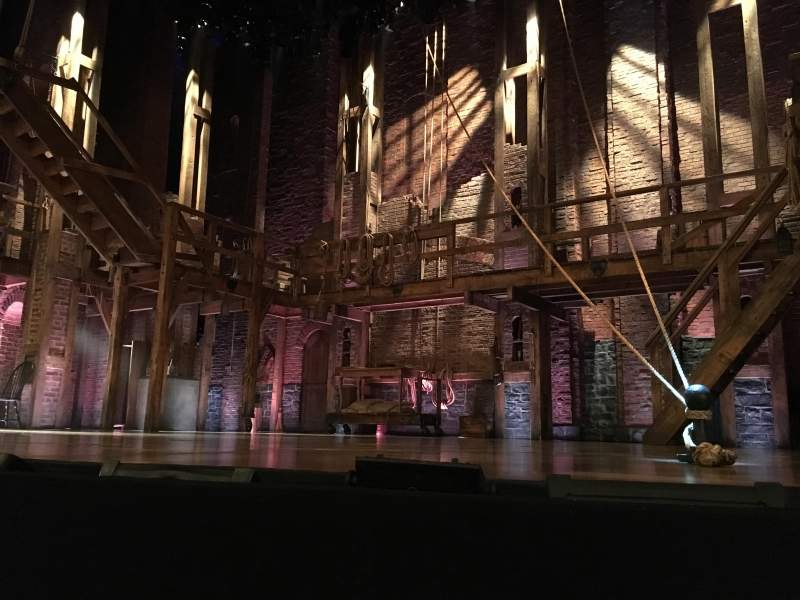 Seating view for Richard Rodgers Theatre Section Orchestra R Row A Seat 2