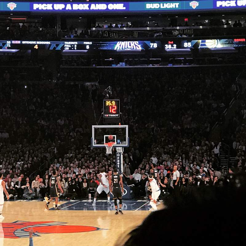 Photos Of The New York Knicks At Madison Square Garden