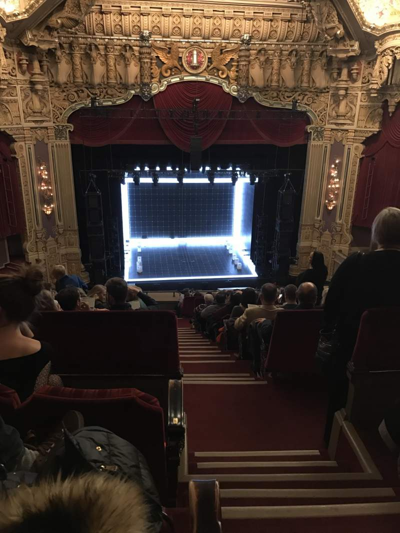Seating view for Oriental Theatre Section Balcony LC Row O Seat 321