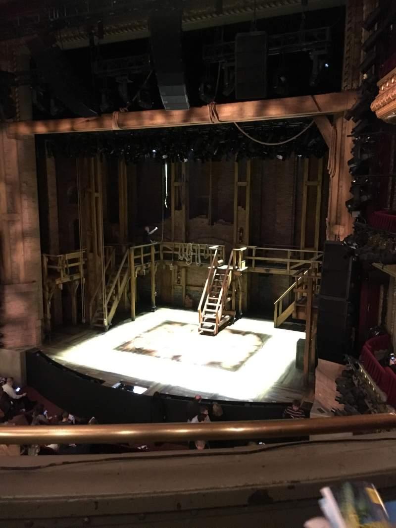 Seating view for CIBC Theatre Section Mezzanine R Row B Seat 4