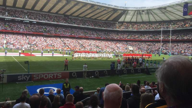 Seating view for Twickenham Stadium Section L7 Row 10 Seat 314