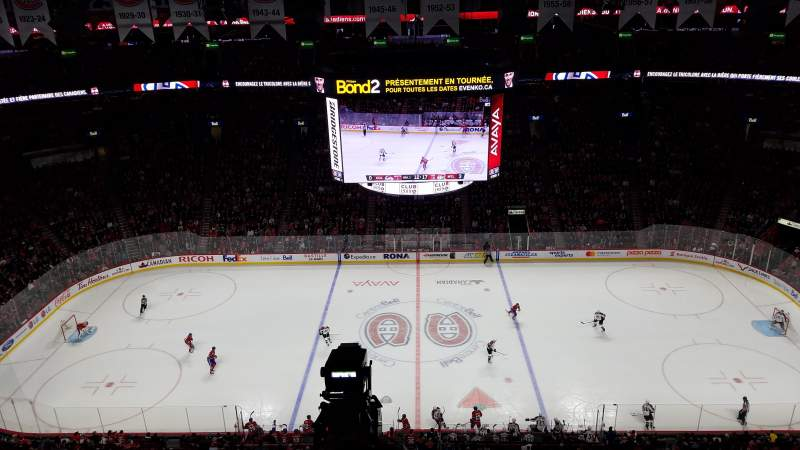 Seating view for Centre Bell Section 301 Row EE Seat 5