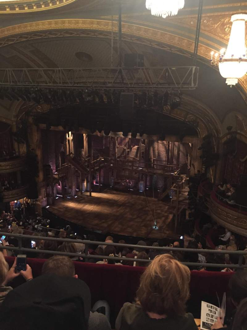Seating view for Richard Rodgers Theatre Section Rear Mezzanine R Row C Seat 24