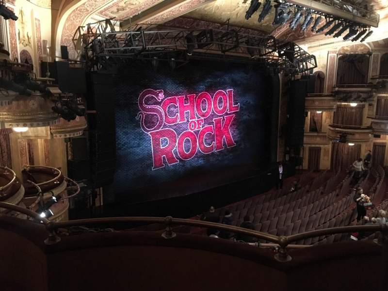 Seating view for Winter Garden Theatre Section Mezz Row C Seat 3