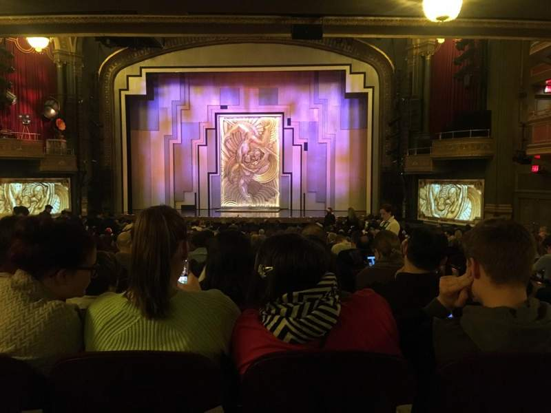 Seating view for Lyric Theatre Section Orch Row YY Seat 117