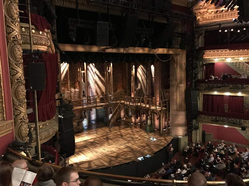 Seating view for CIBC Theatre Section Mezzanine L Row D Seat 17