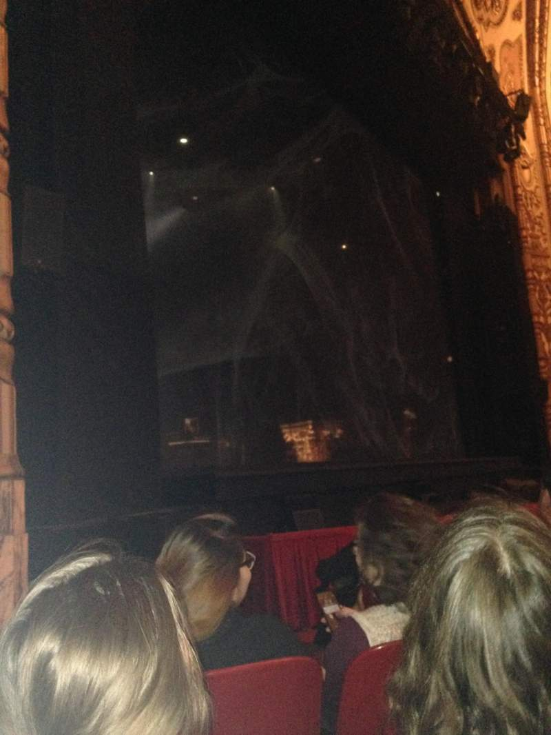 Seating view for Cadillac Palace Theater Section Orchestra L Row E Seat 23