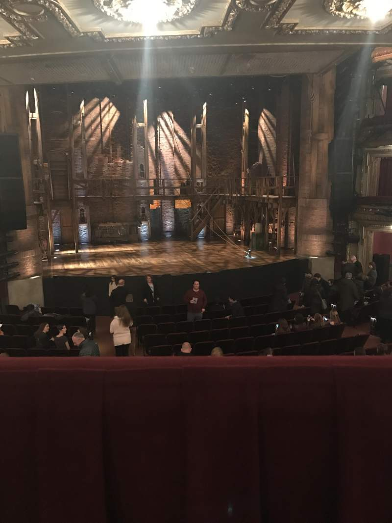 Seating view for CIBC Theatre Section Dress circle lc Row a Seat 223