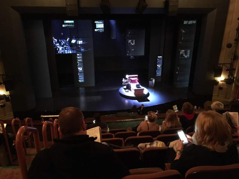 Seating view for Music Box Theatre Section Mezz Row G Seat 114