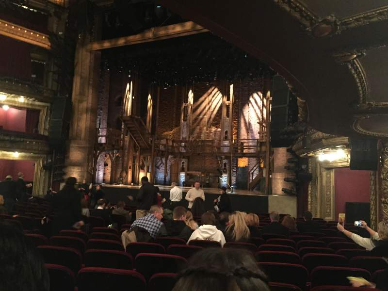 Seating view for CIBC Theatre Section Orchestra R Row S Seat 14