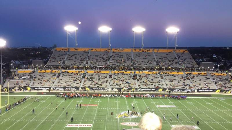 Seating view for Tim Hortons Field Section 205 Row 7 Seat 28