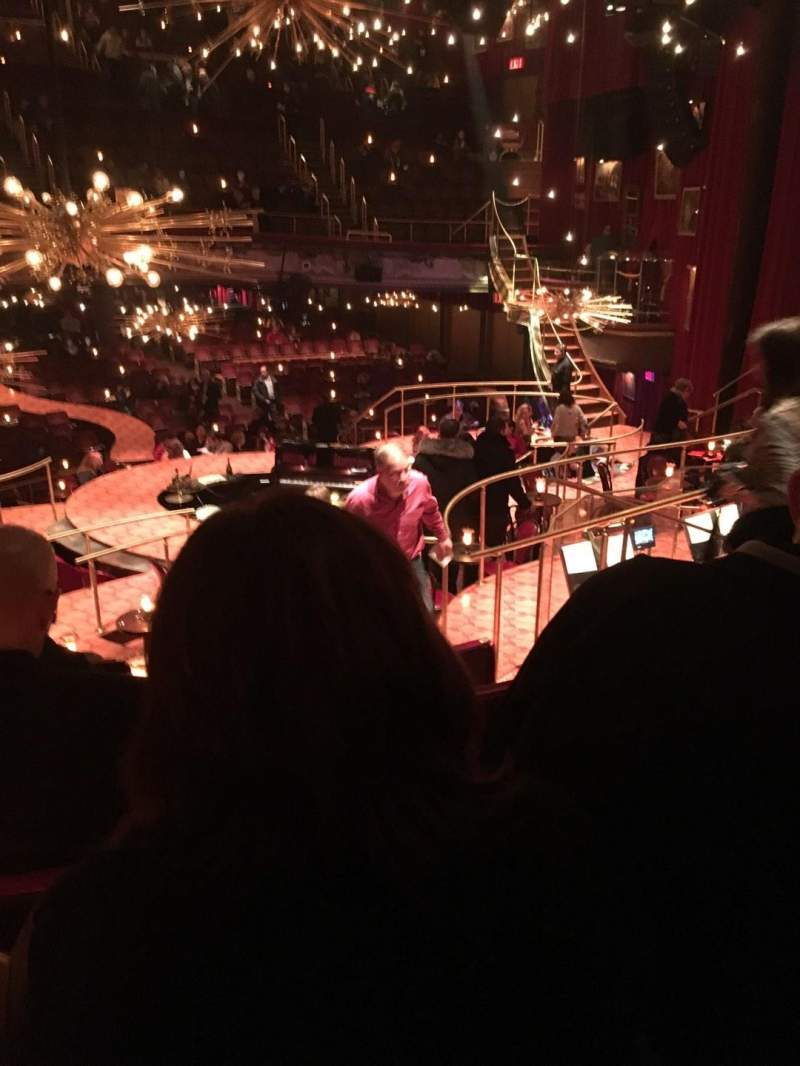 Seating view for Imperial Theatre Section Onstage Left Banquette Row J Seat 16