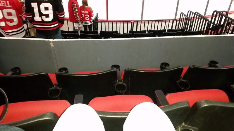 Seating view for PNC Arena Section 101 Row H Seat 4