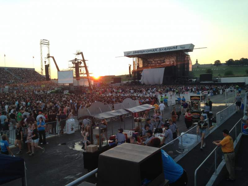 Seating view for Hershey Park Stadium Section 30 Row AA