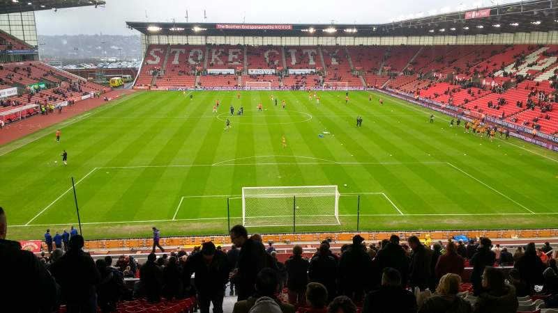 Seating view for bet365 Stadium Section 38 Row 36 Seat 925