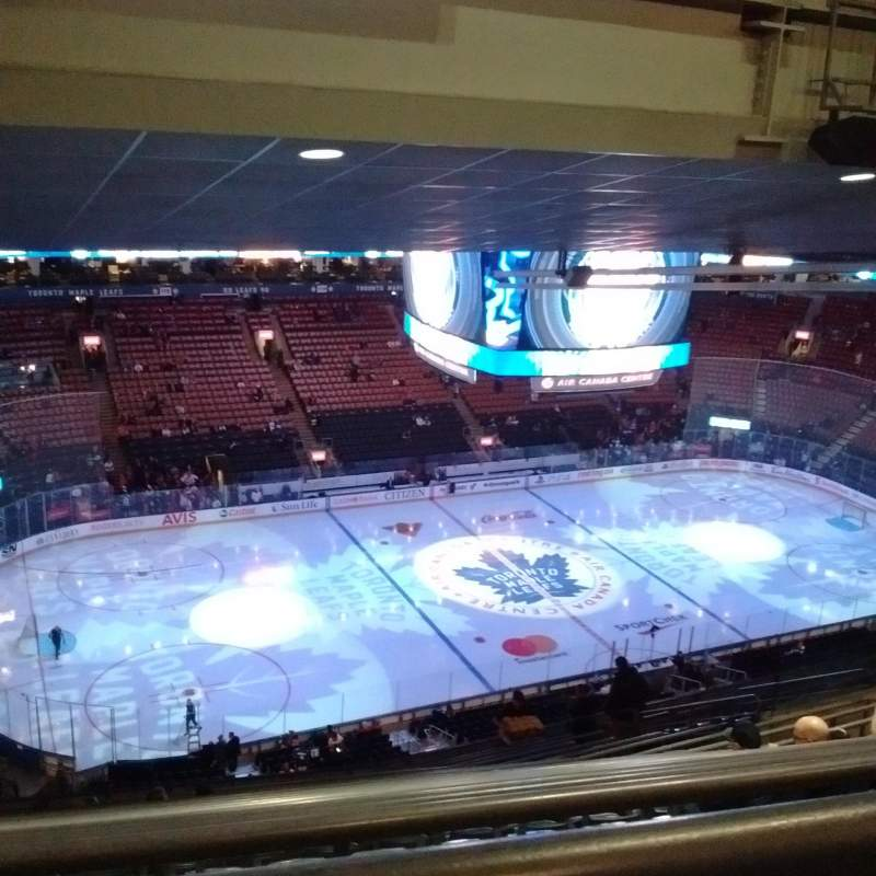 Seating view for Scotiabank Arena Section 311 Row 17
