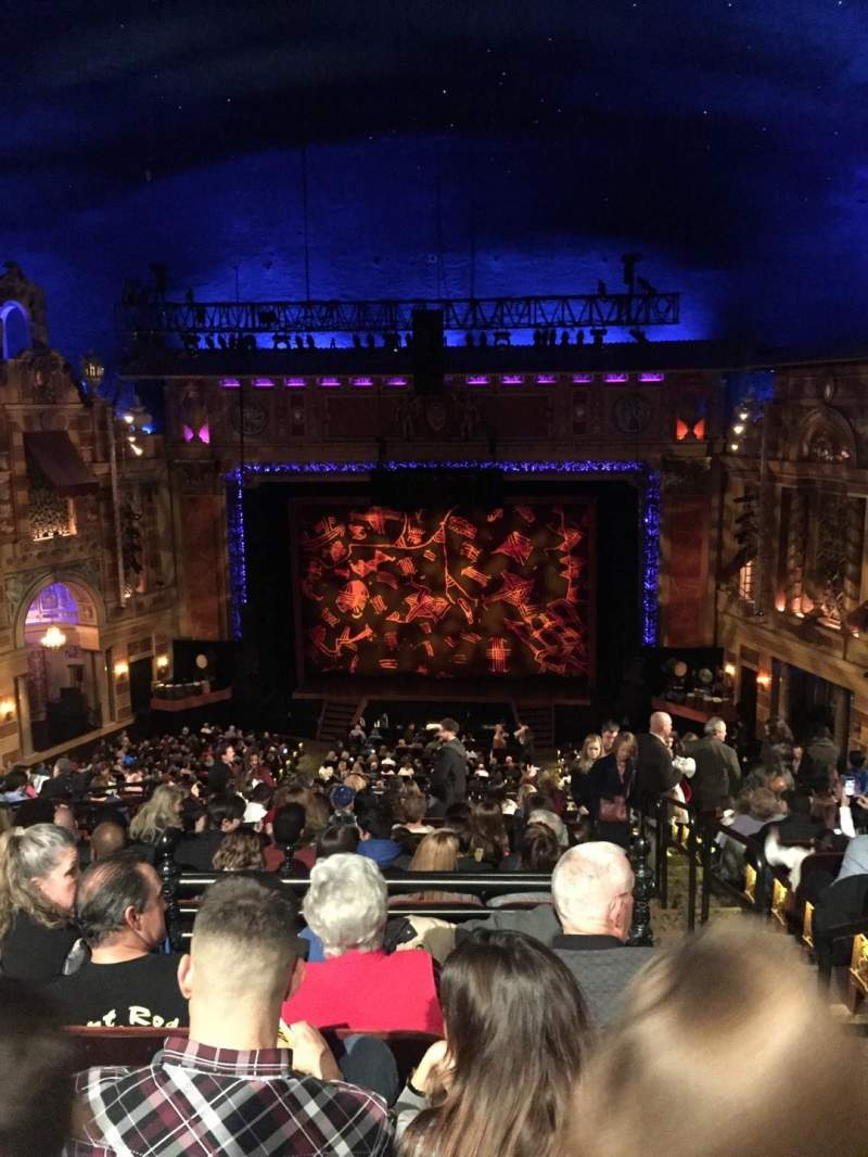 Seating view for Saenger Theatre (New Orleans) Section C Row N Seat 117