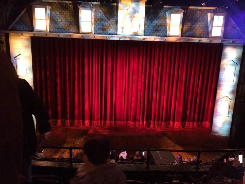 Seating view for Studio 54 Section Front Mezzanine C Row Dd Seat 114