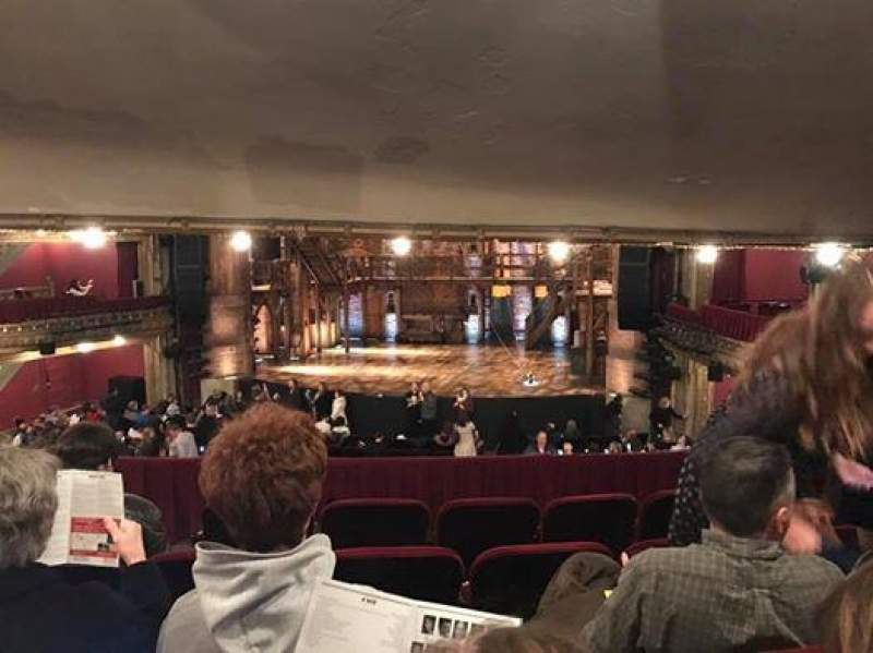 Seating view for CIBC Theatre Section Dress Circle RC Row E Seat 230-232