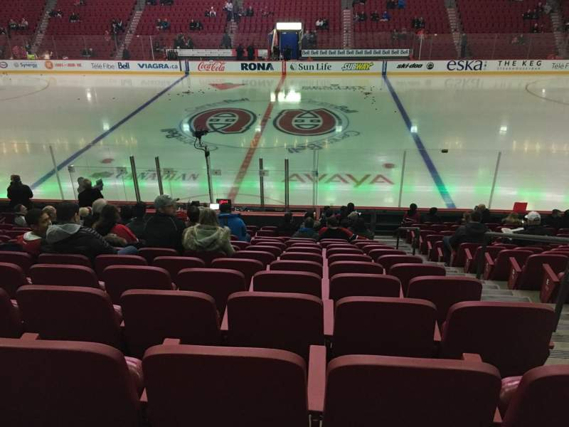 Seating view for Centre Bell Section 113 Row L Seat 1-2