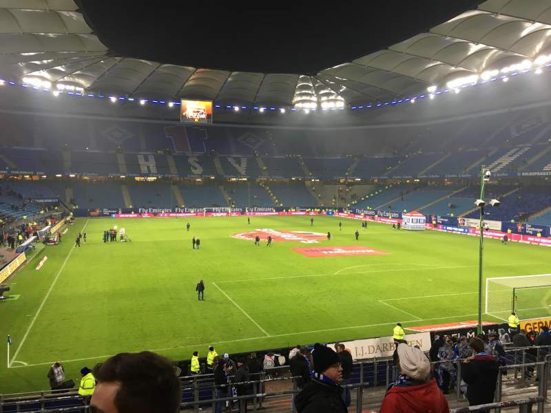 Seating view for Volksparkstadion Section 26a