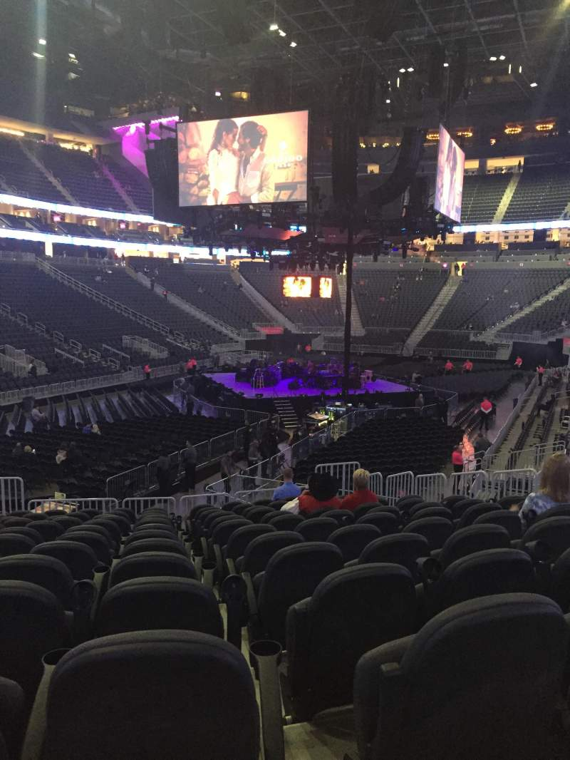 Seating view for T-Mobile Arena Section 2 Row j