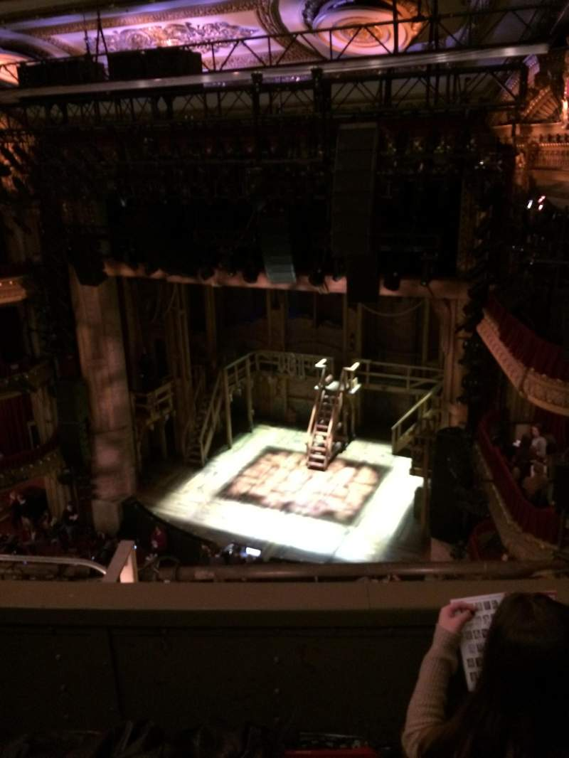 Seating view for CIBC Theatre Section Balcony R Row C Seat 8