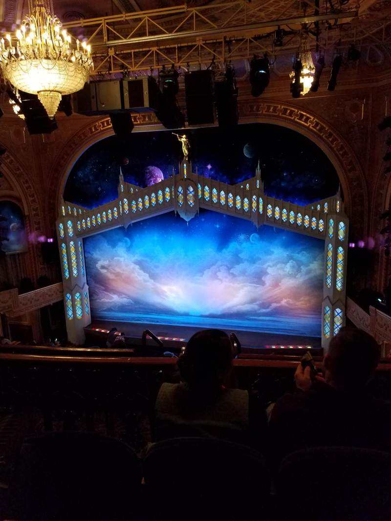 Seating view for Eugene O'Neill Theatre Section Mezzanine C Row G Seat 120