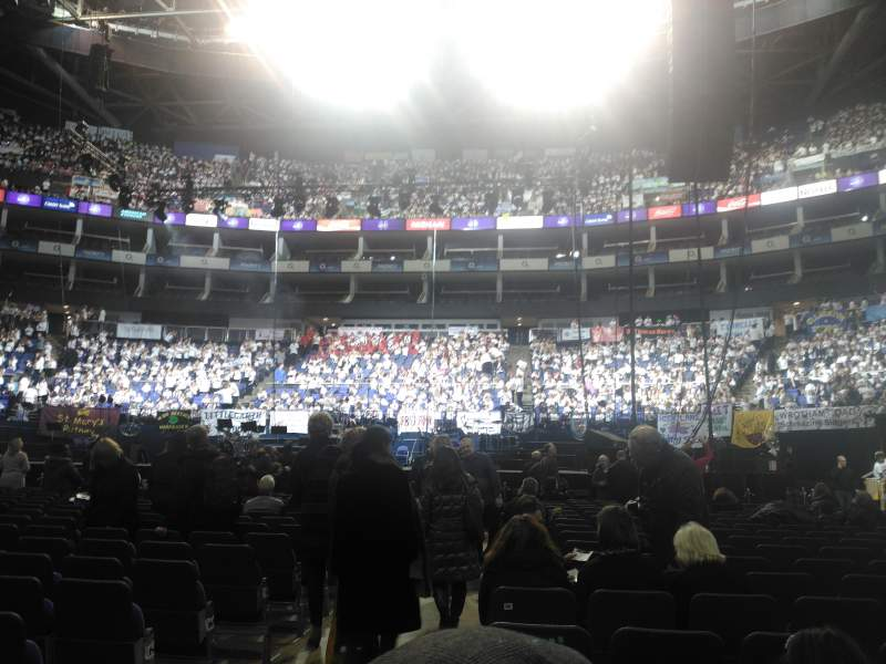 Seating view for The O2 Arena