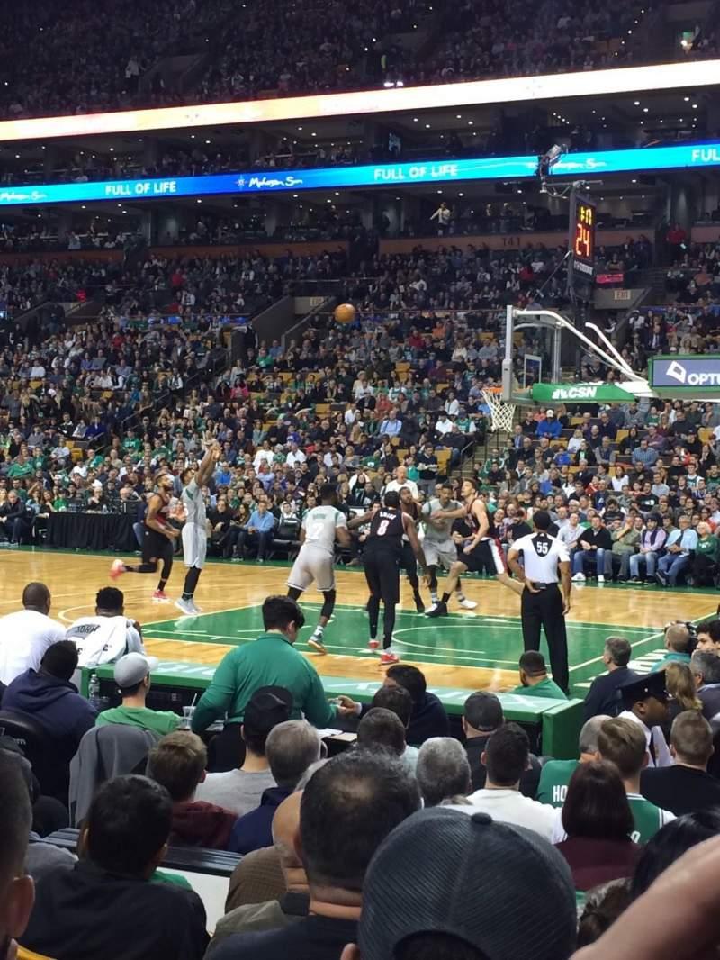Td Garden Level 2 Loge Home Of Boston Bruins Boston Celtics Boston Blazers