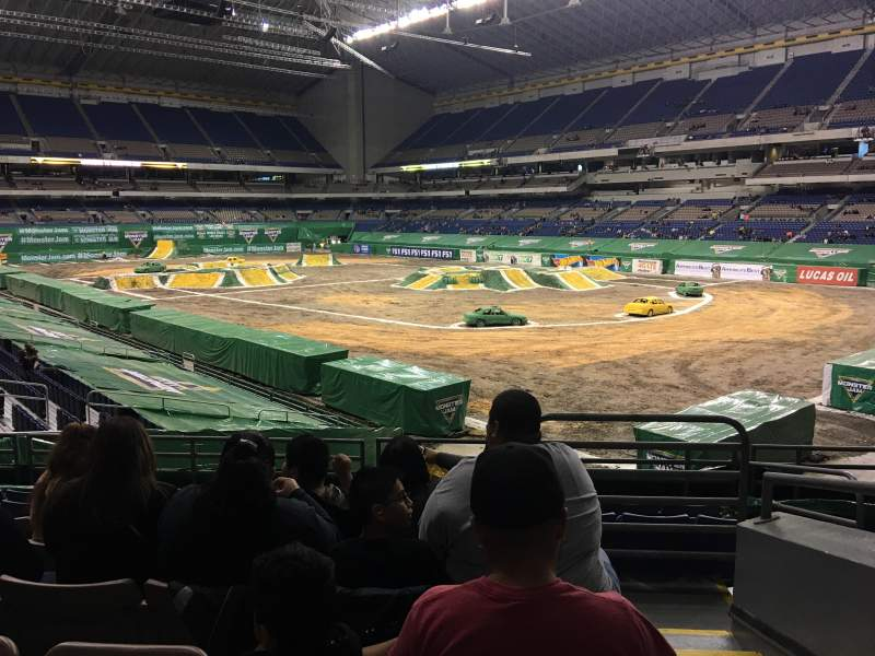 Seating view for Alamodome Section 128 Row 24 Seat 1