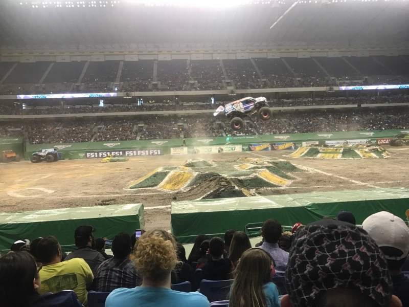 Seating view for Alamodome Section 114 Row 15 Seat 5