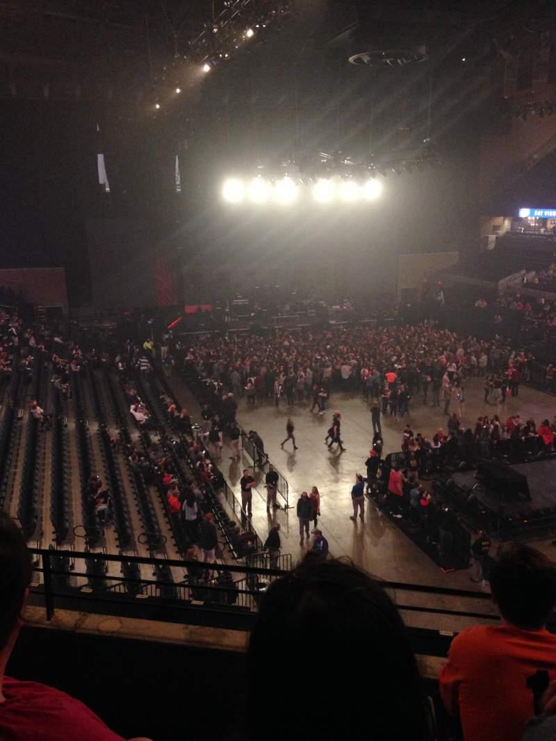 Seating view for John Paul Jones Arena Section 309 Row C Seat 25