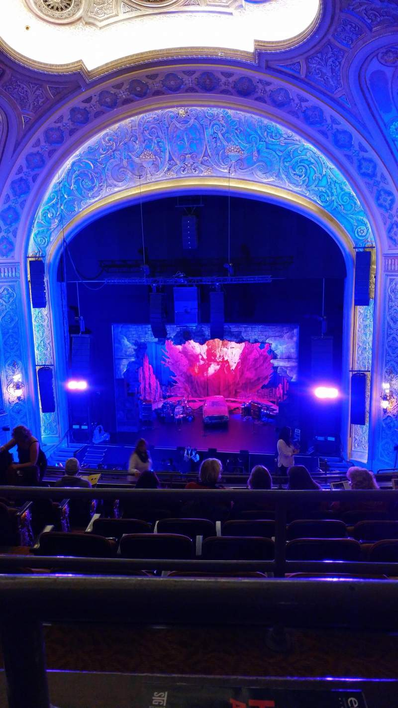 Seating view for Paramount Theatre (Seattle) Section Mezzanine 22 Row J Seat 3