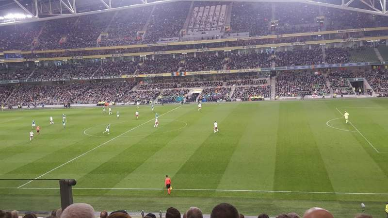 Seating view for Aviva Stadium Section 304