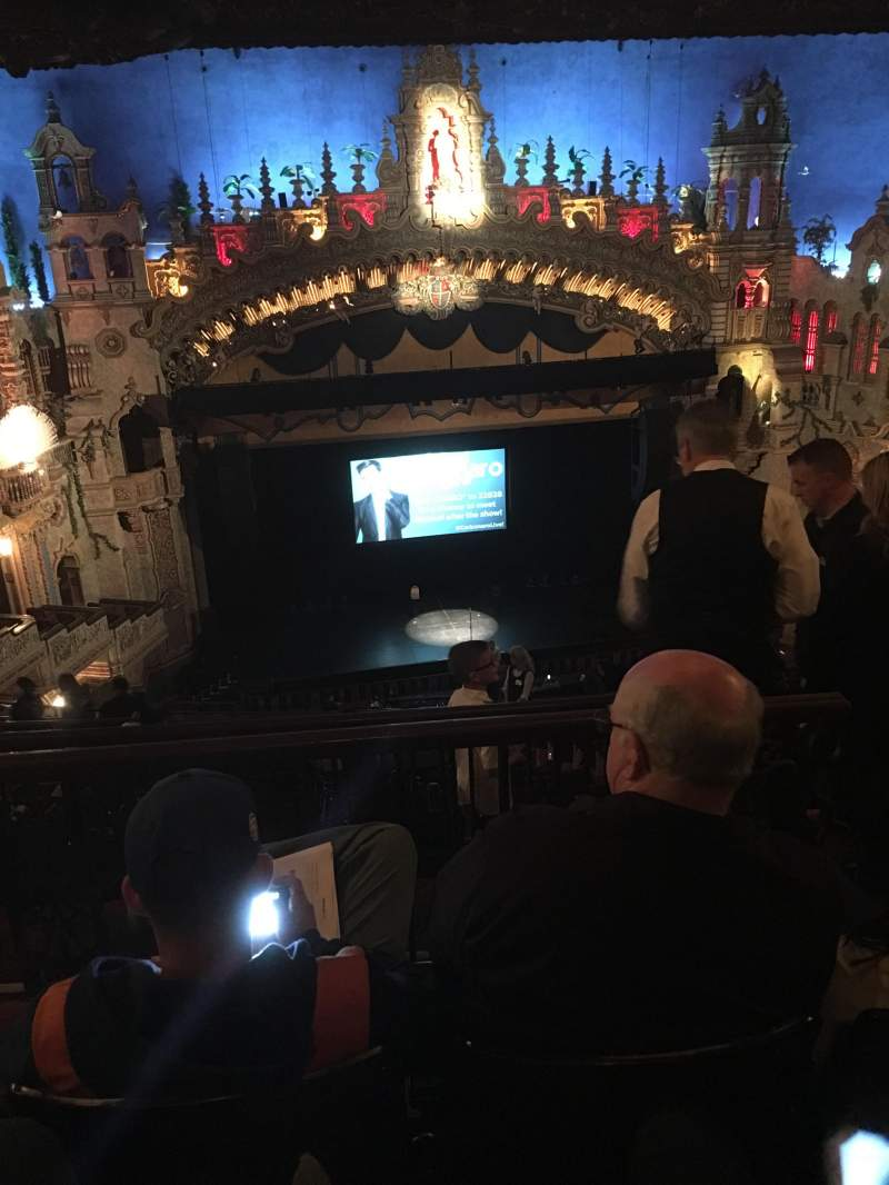 Seating view for Majestic Theatre - San Antonio Section Balcony LC Row Mm Seat 3
