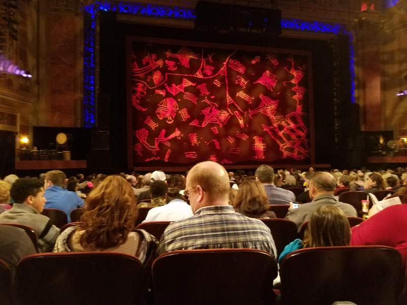 Seating view for Saenger Theatre (New Orleans) Section Orchestra L Row T Seat 117