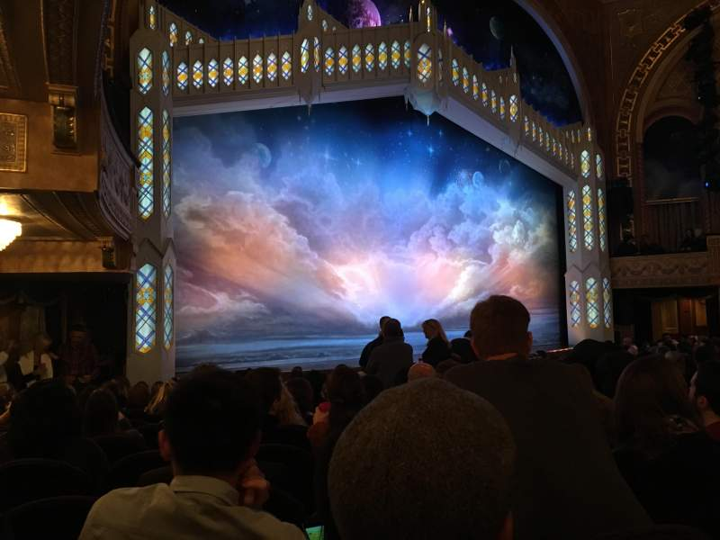 Seating view for Eugene O'Neill Theatre Section Orchestra Left Row N Seat 21