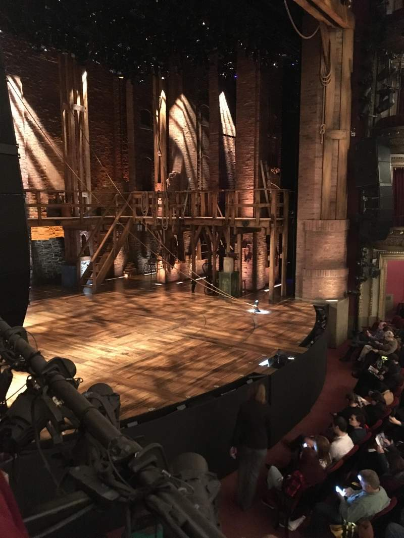 Seating view for CIBC Theatre Section Dress Circle Box 3 Row C Seat 9