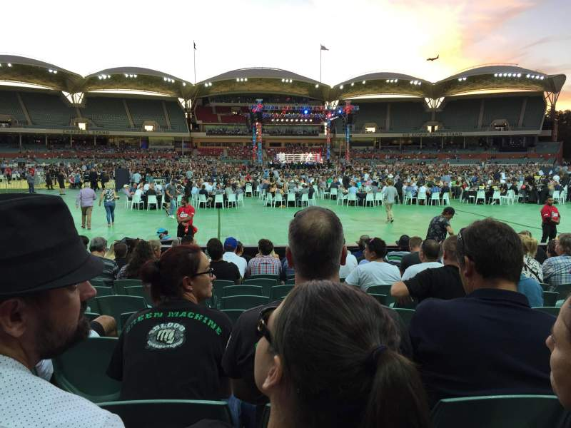 Seating view for Adelaide Oval Section 135 Row M Seat 37