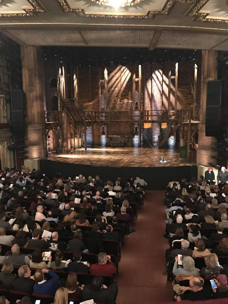 Seating view for CIBC Theatre Section Dress Circle RC Row A Seat 224