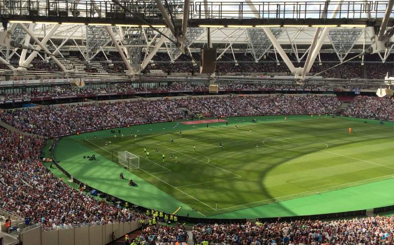 Seating view for London Stadium Section 229 Row 63 Seat 664