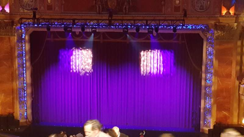 Seating view for Saenger Theatre (New Orleans) Section Upper balcony Row R Seat 4