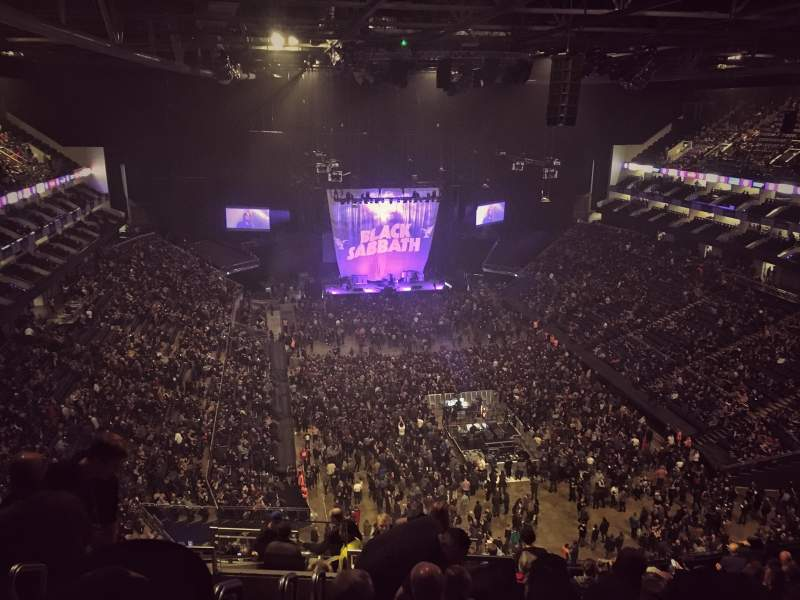 The O2 Arena Section 410 Row N