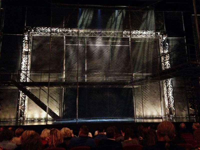 Seating view for August Wilson Theatre Section Center Orch Row J Seat 110
