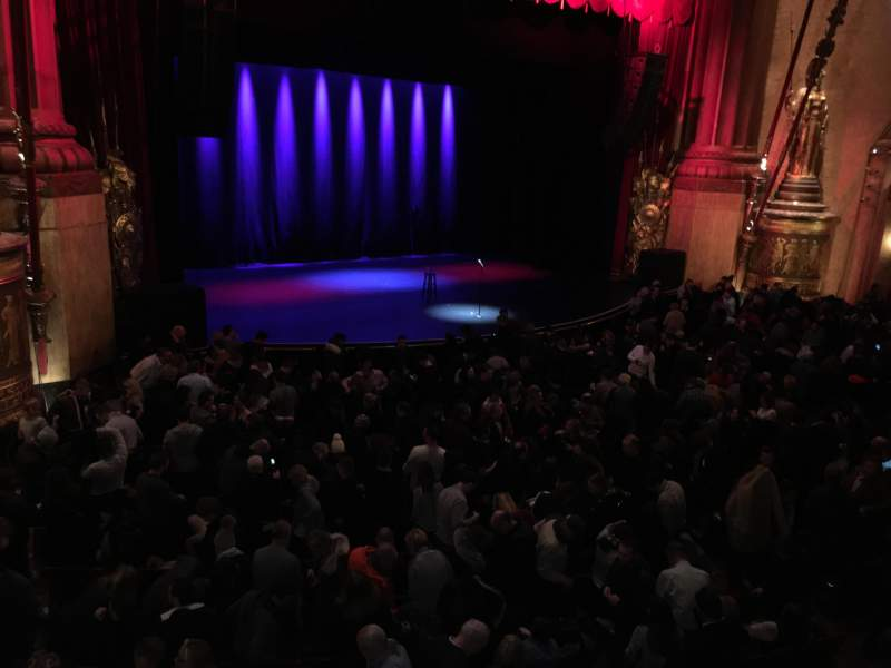 Seating view for Beacon Theatre Section Loge 3 Row A Seat 31