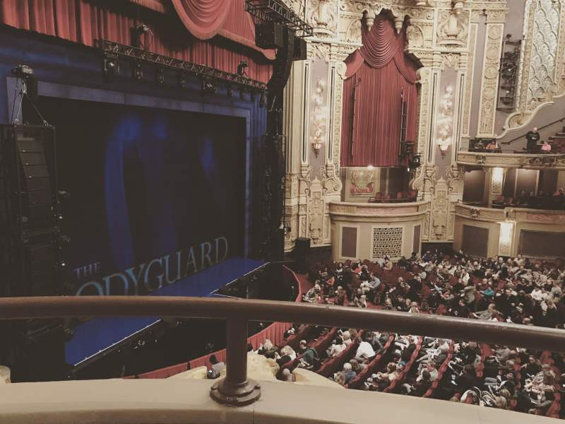 Seating view for Oriental Theatre Section Loge - Box 1 Row A Seat 373
